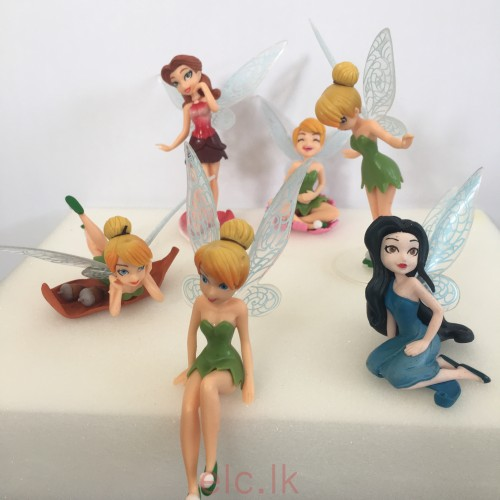 Cake Topper Tinkerbell Figurines Set Of 6